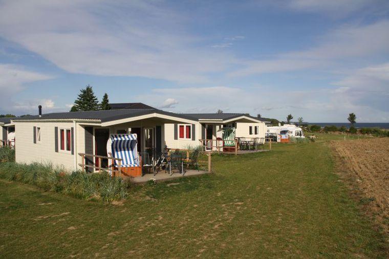 Strandhaus von vorne