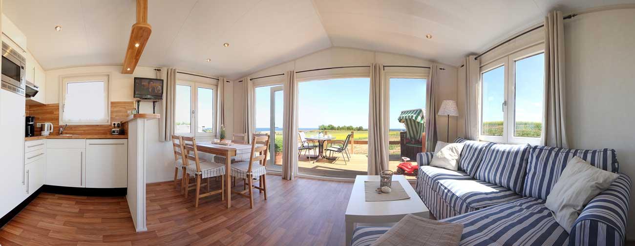 Strandhaus mit Ostseeblick